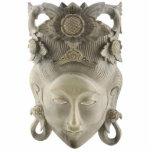 Ornamento de la máscara del Balinese Esculturas Fotográficas