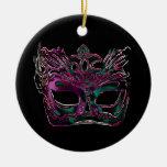 Ornamento de la mascarada ornamentos de reyes