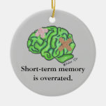 """Ornamento de la """"memoria a corto plazo"""" adorno para reyes"""
