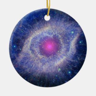 Ornamento de la nebulosa de la hélice ornamentos de reyes magos