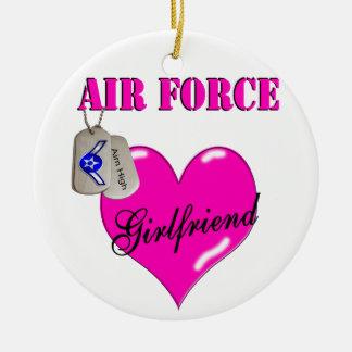 Ornamento de la novia de la fuerza aérea adornos