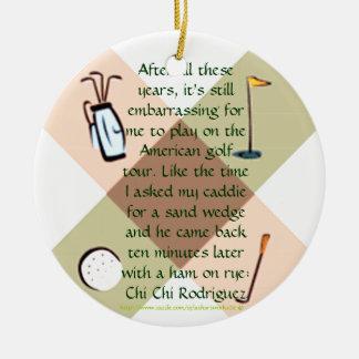"""""""Ornamento de la nuez del golf """" Ornamento De Reyes Magos"""