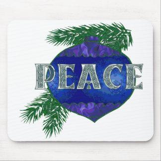 Ornamento de la paz tapete de ratón