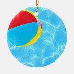 Ornamento de la pelota de playa adorno para reyes