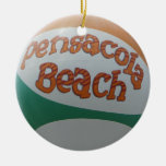 Ornamento de la pelota de playa ornamente de reyes