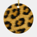 Ornamento de la piel del leopardo ornato