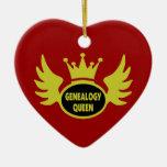 Ornamento de la reina de la genealogía