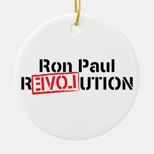 Ornamento de la revolución de Ron Paul Ornatos