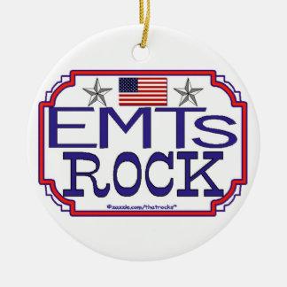 Ornamento de la roca de EMTs
