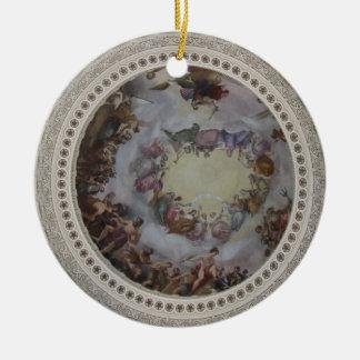 Ornamento de la Rotonda del capitolio de los Ornamento Para Arbol De Navidad