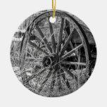 Ornamento de la rueda de carro ornamentos para reyes magos