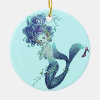 Ornamento de la sirena de la fantasía ornamente de reyes
