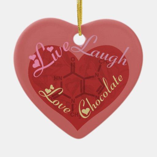 Ornamento de la tarjeta del día de San Valentín de Ornamento Para Reyes Magos