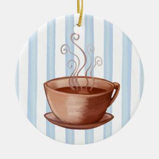 Ornamento de la taza de café adorno