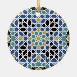 Ornamento de la teja del Moorish Ornatos
