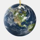 Ornamento de la tierra del planeta ornamente de reyes