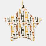 Ornamento de la trompeta adorno de reyes