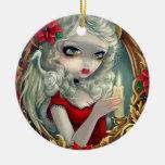 """""""Ornamento de la vela del navidad"""" Ornamentos De Reyes Magos"""
