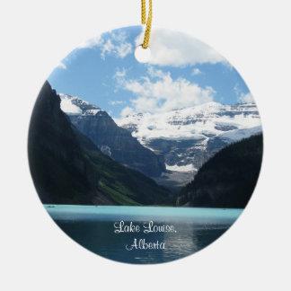 Ornamento de Lake Louise, Alberta Ornamento De Navidad