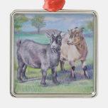 Ornamento de las cabras ornatos
