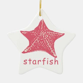 ornamento de las estrellas de mar ornamentos de navidad