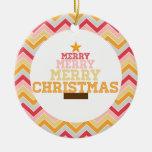 Ornamento de las Felices Navidad Adornos