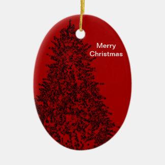 Ornamento de las Felices Navidad de GothicChicz Adorno De Reyes