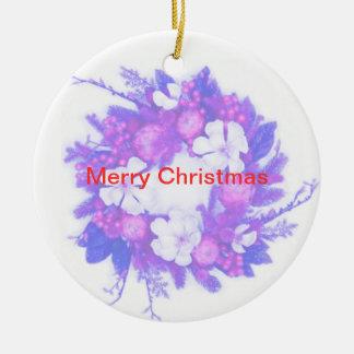 Ornamento de las Felices Navidad de GothicChicz Ornatos