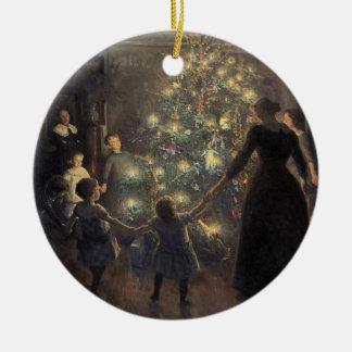 Ornamento de las felices Navidad Ornamento De Reyes Magos