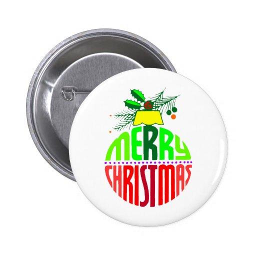 Ornamento de las Felices Navidad Pins