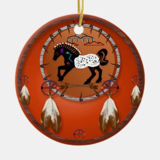 Ornamento de las flechas del caballo n ornamentos de reyes magos