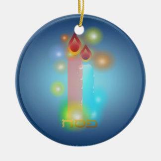 Ornamento de las luces ornamentos de navidad