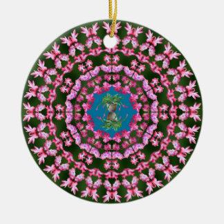 Ornamento de las mandalas del cactus de navidad adorno para reyes