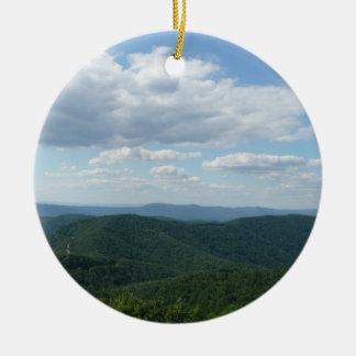 Ornamento de las montañas apalaches adorno