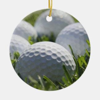 Ornamento de las pelotas de golf ornatos