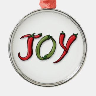 Ornamento de las pimientas del navidad ornamento de navidad