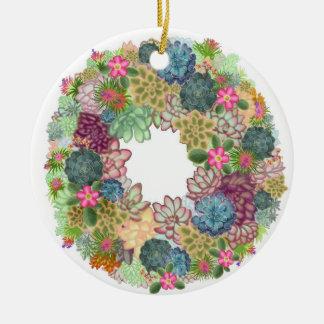 Ornamento de las plantas de jardín de piedras del ornamento para arbol de navidad