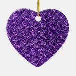 Ornamento de las púrpuras del vintage adorno