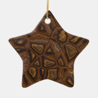 Ornamento de las ROCAS Adorno Navideño De Cerámica En Forma De Estrella