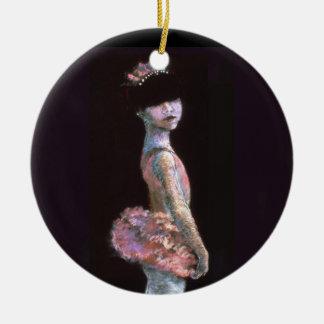 Ornamento de Lilly de la bailarina Adorno De Reyes