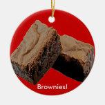 Ornamento de los brownie ornamento de navidad