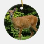 Ornamento de los ciervos adornos de navidad