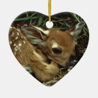 Ornamento de los ciervos del bebé adorno para reyes