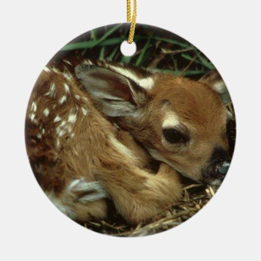 Ornamento de los ciervos del bebé ornato