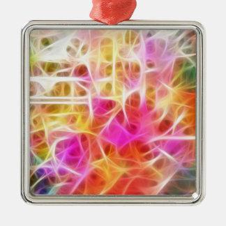 Ornamento de los fractales ornaments para arbol de navidad