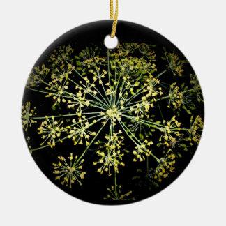 ornamento de los fuegos artificiales de la flor ornamento para arbol de navidad