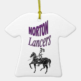 Ornamento de los lanceros de Norton Adorno