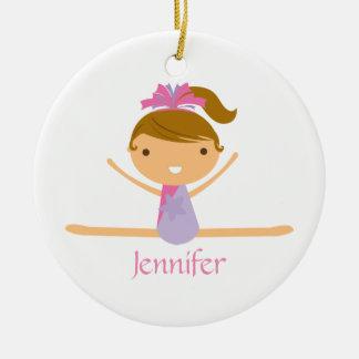 Ornamento de los niños del chica partido personali ornamentos de reyes magos