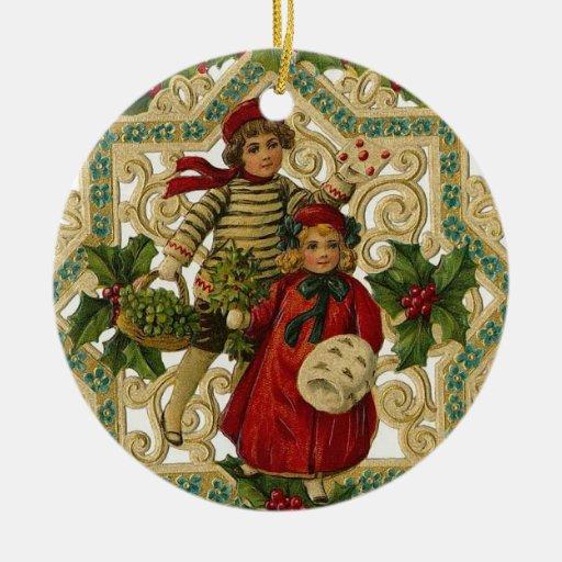 Ornamento de los niños del navidad adorno para reyes