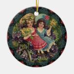 Ornamento de los niños del Victorian Ornamento De Reyes Magos